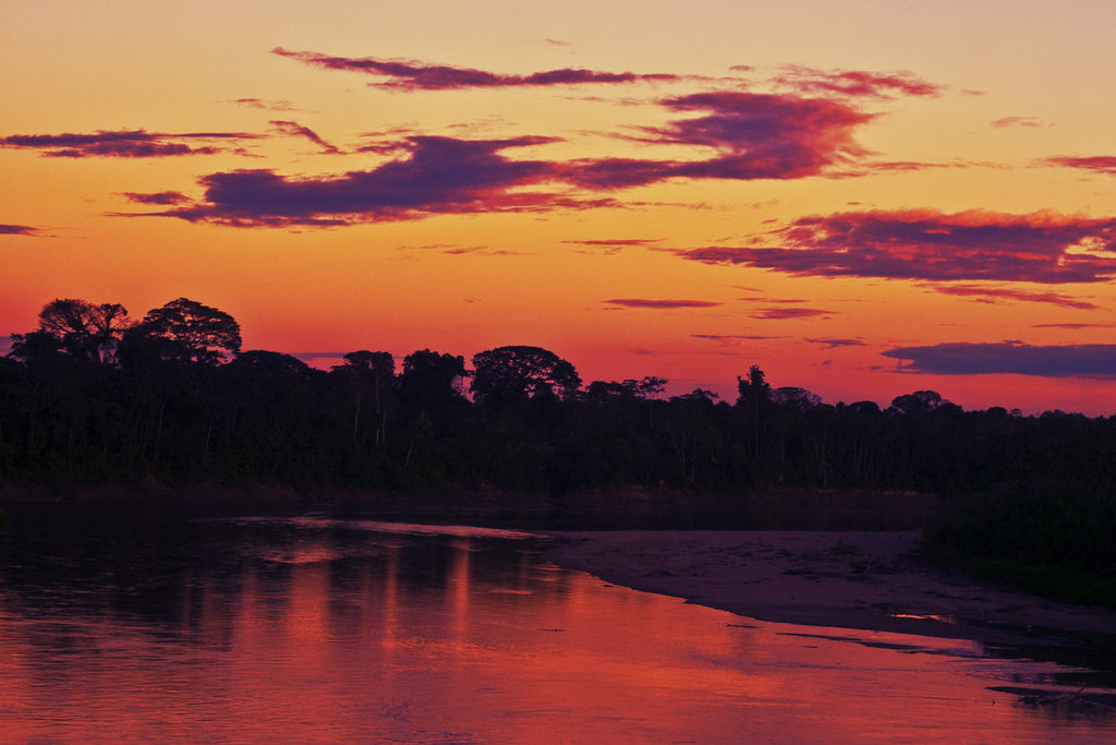 3 Programs_Huaira sunset over the canopy Amazonia 1